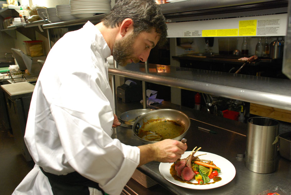 Chef Brian Aaron Tannin Wine Bar and Kitchen