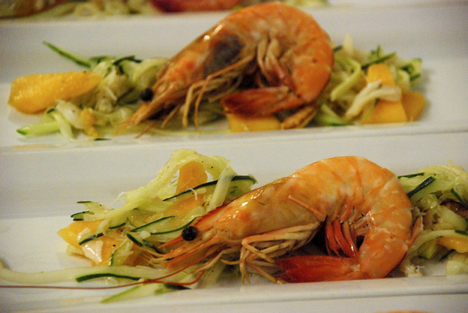 First Course Prawns