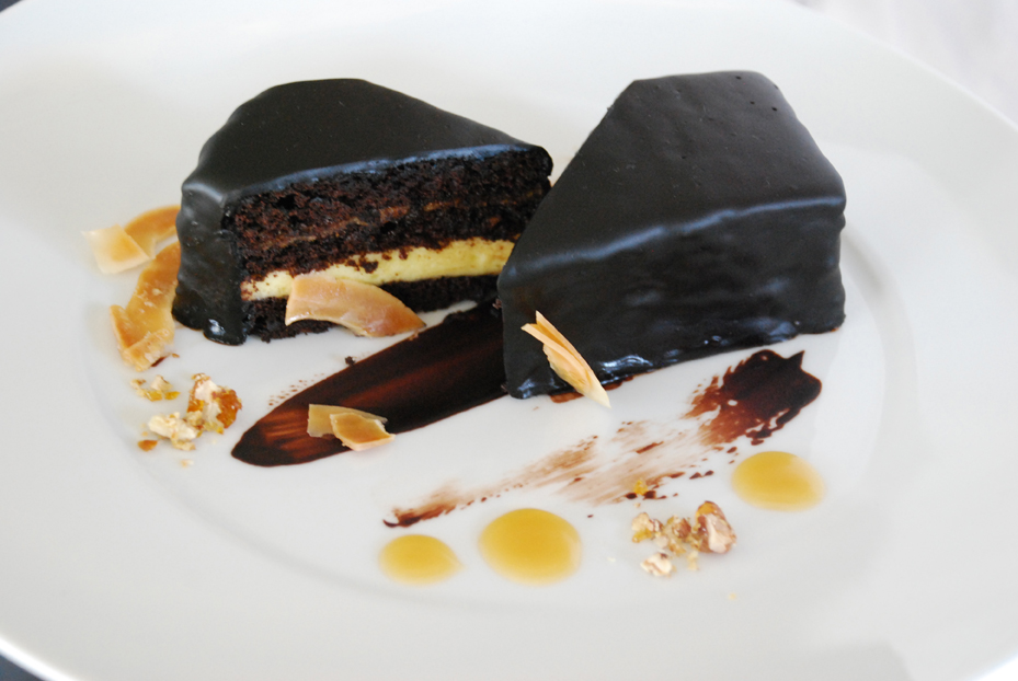 German Chocolate Cake by Pastry Chef Dominique Perez, Story.