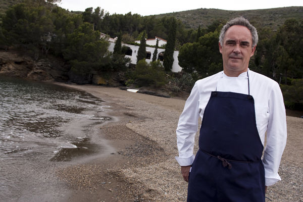 Ferran Adria, El Bulli. Courtesy of elBullifoundation.