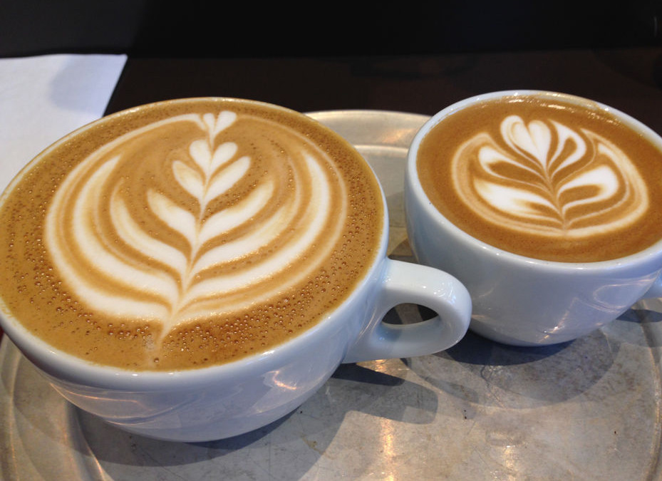 Judging Latte Art at The Roasterie