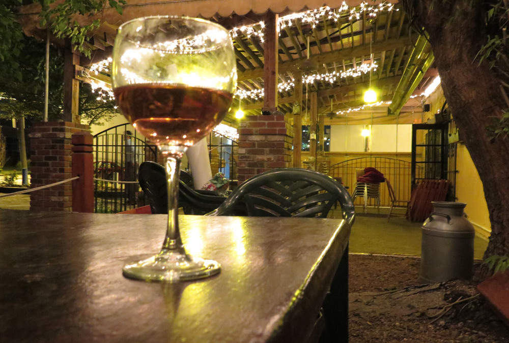 Magic Places in Kansas City: Le Fou Frog's Patio