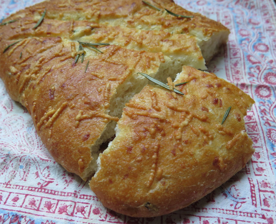 Bloom rosemary focaccia