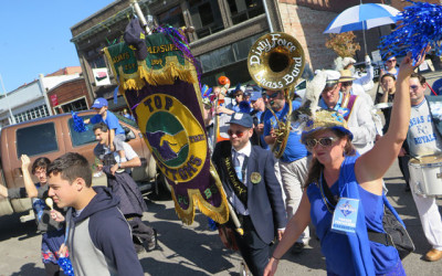 KC Royals World Series Championship Parade With Dirty Force Band